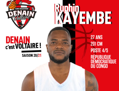 Ruphin Kayembe est officiellement un dragon !