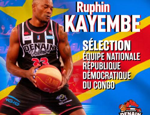 Ruphin Kayembe appelé en sélection congolaise !