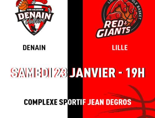 PREVIEW : Denain Voltaire / Lille Métopole Basket