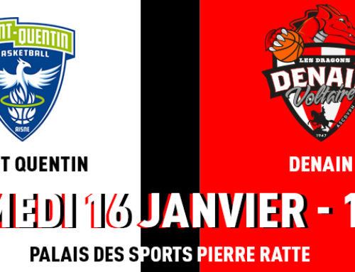 PREVIEW : St Quentin Basketball / Denain Voltaire