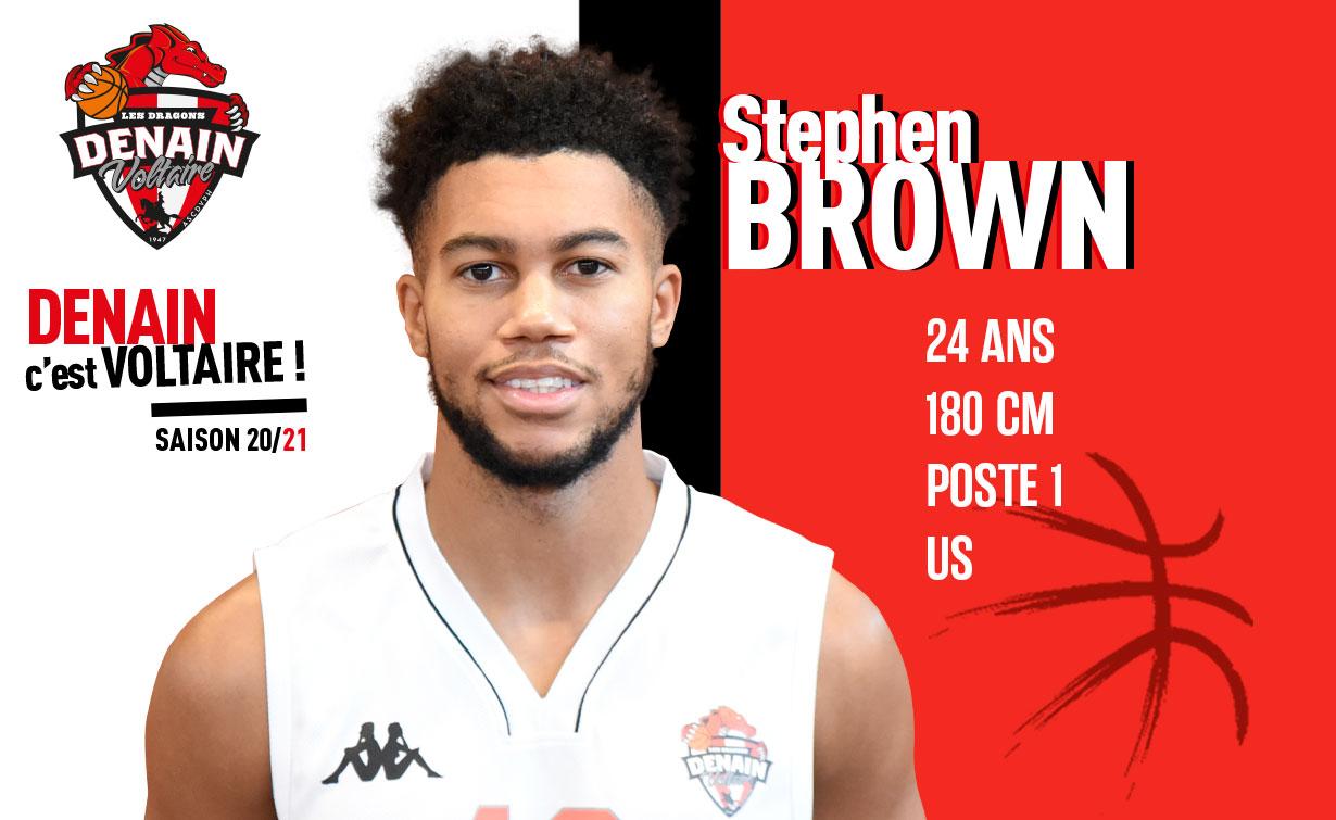 Stephen Brown est un nouveau Dragon !