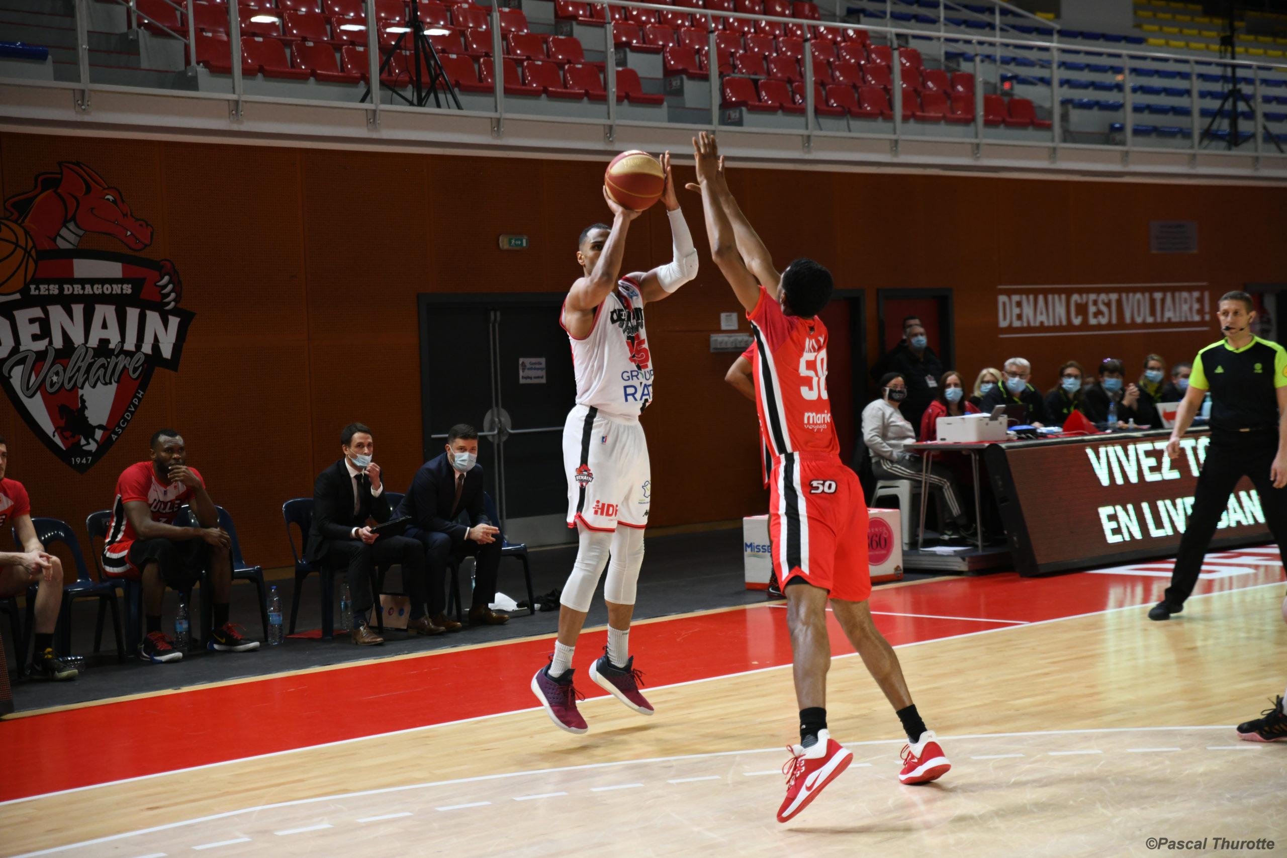 Retour sur le match : Denain Voltaire / Lille Métropole Basket