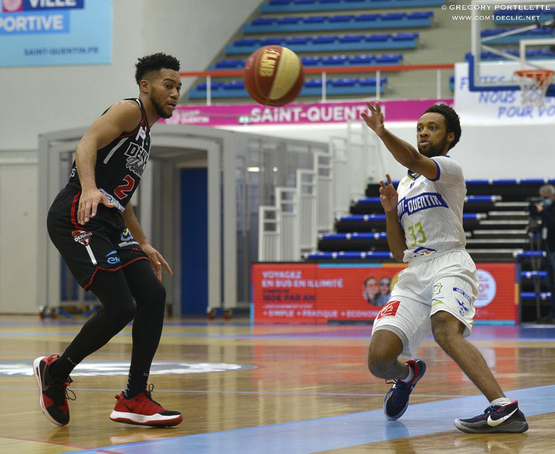 Retour sur le match / Saint Quentin Basketball