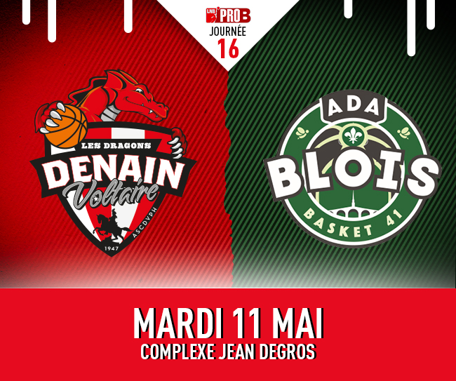 MATCH PREVIEW : DENAIN VOLTAIRE / BLOIS